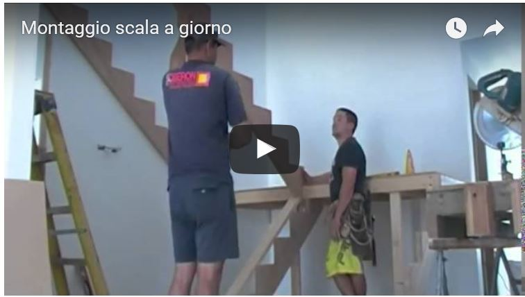 Come Costruire Una Scala A Giorno In Legno